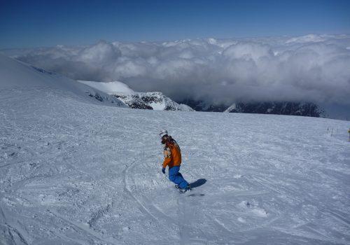 Les Deux Alpes (Nad chmurami)