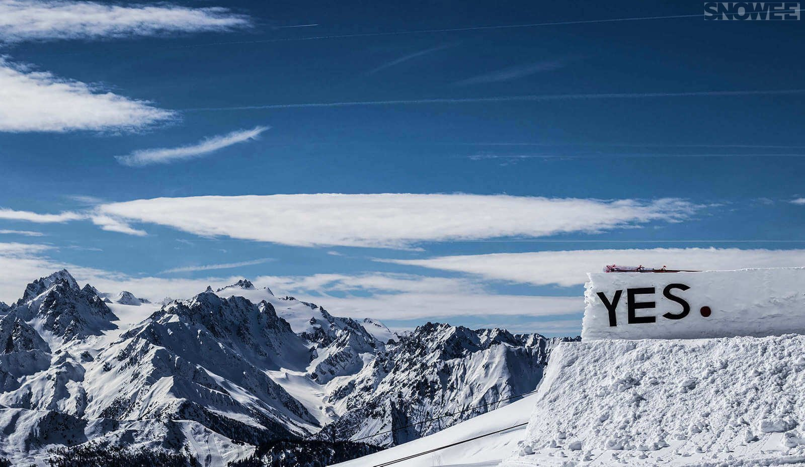 Switzerland Verbier snowpark