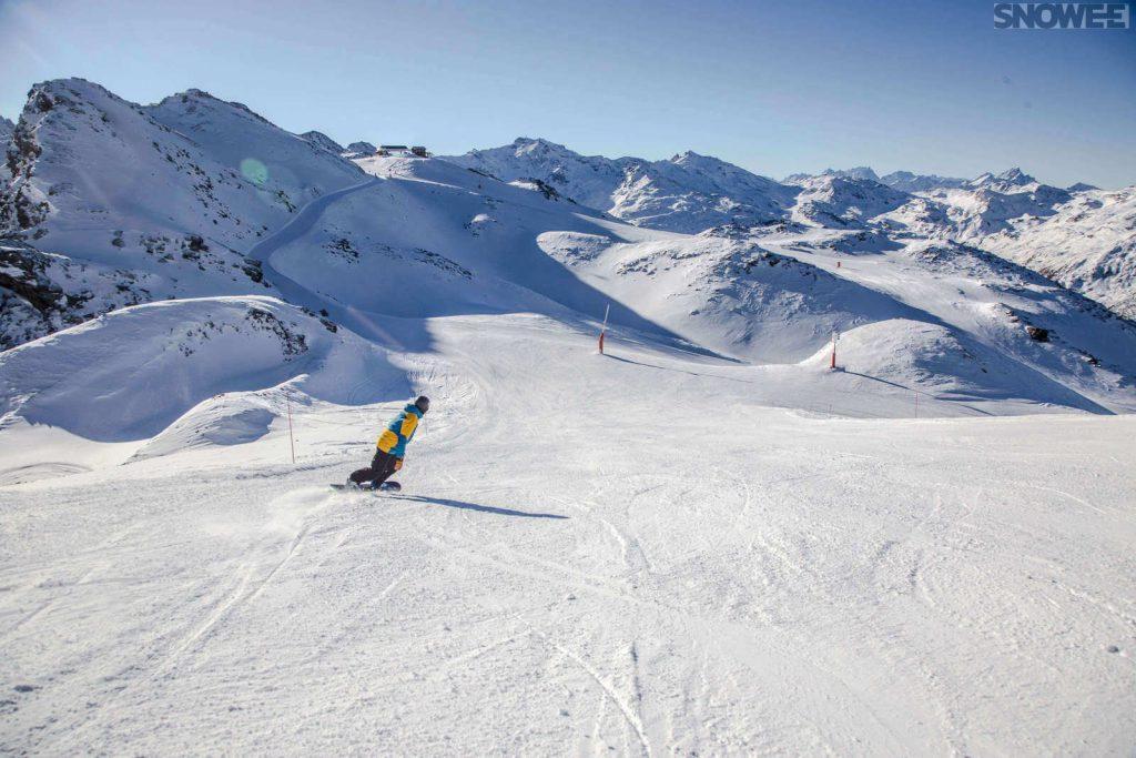 Jazda na snowboardzie w Austrii