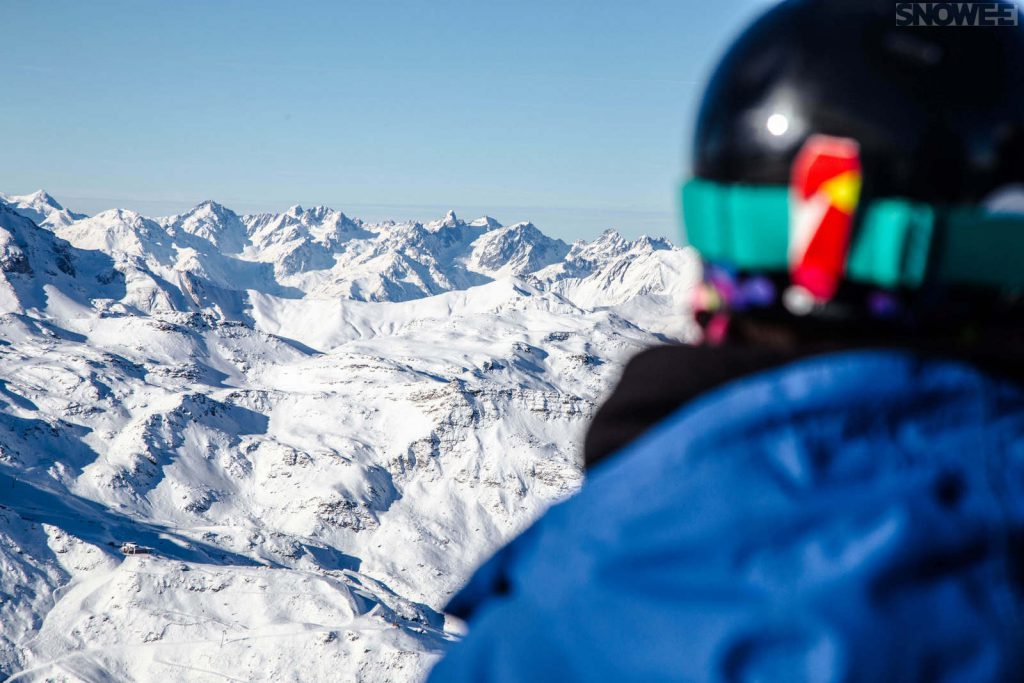 Góry w Austrii, idealne dla narciarzy