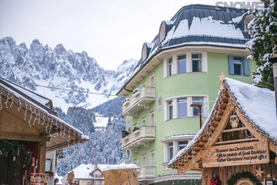 Ośrodek narciarski w Austrii