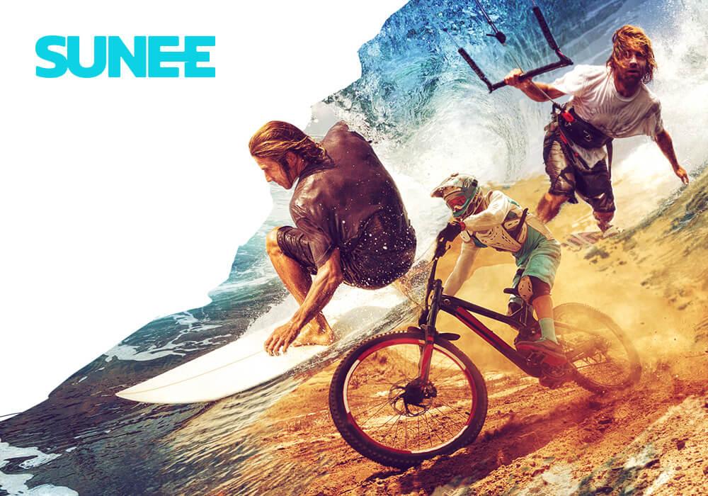 Surf, rowery