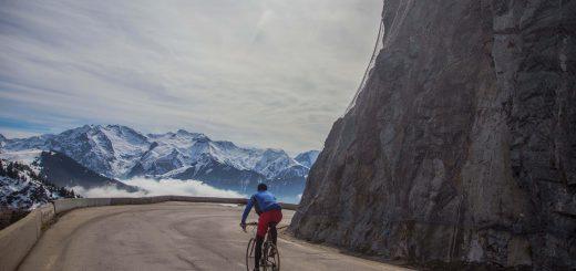 Alpe d'Huez droga widok