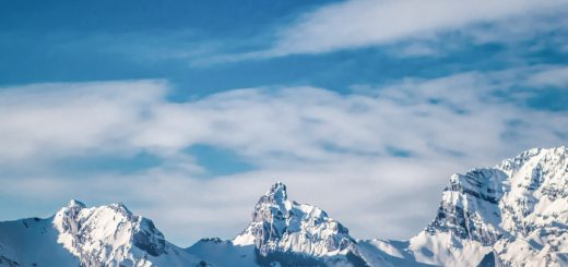 Pra Loup widoki narty Francja