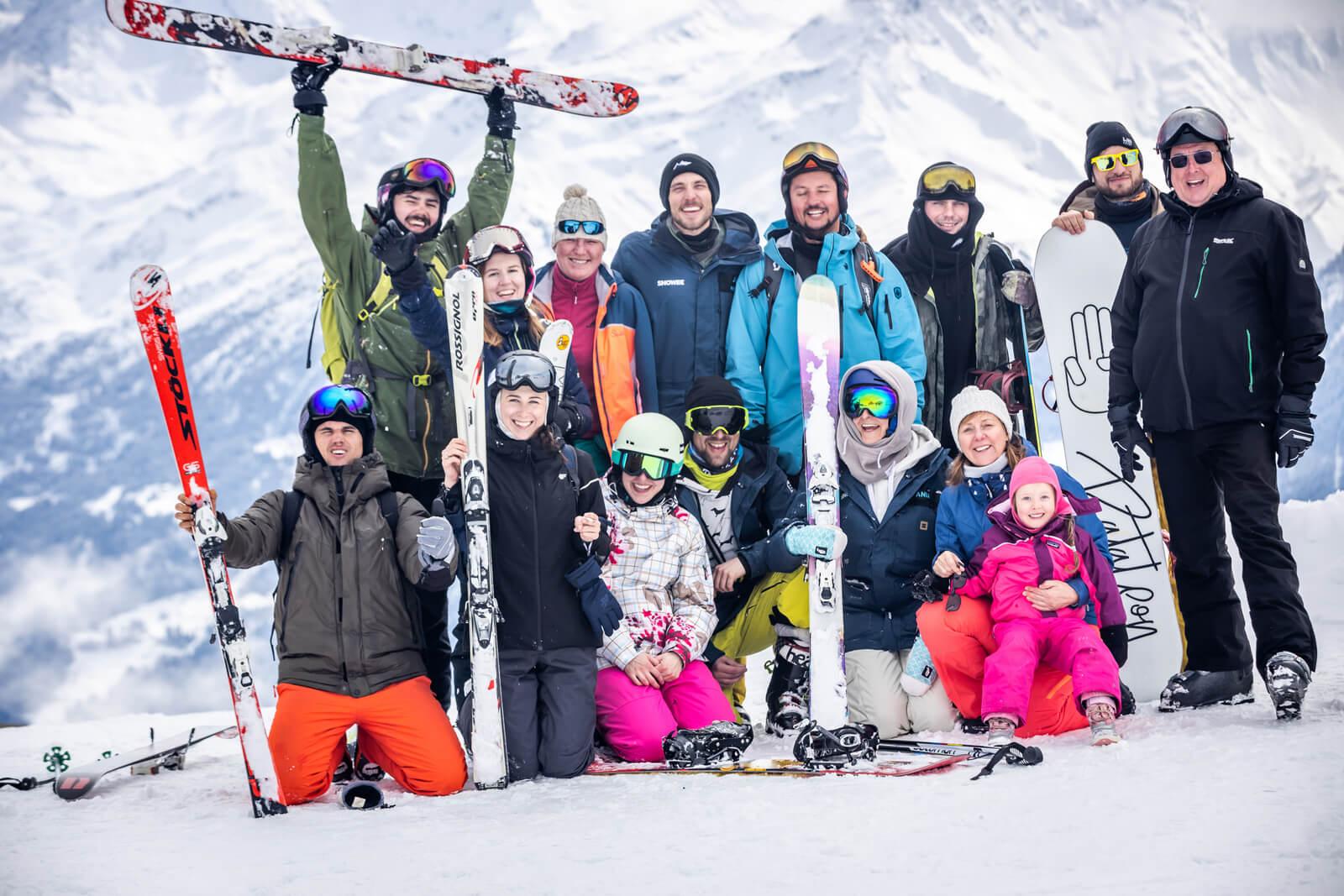 Ekipa Snowee wyjazdy w Alpy