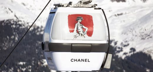 chanel courchevel gondola