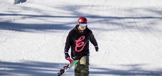 Val di Sole snowpark Alpy