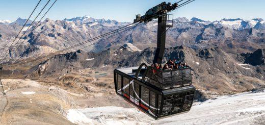 Tignes gondola Alpy
