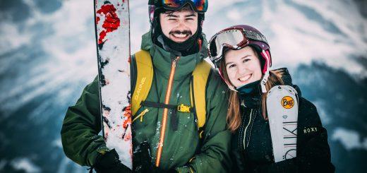 skiing good vibes