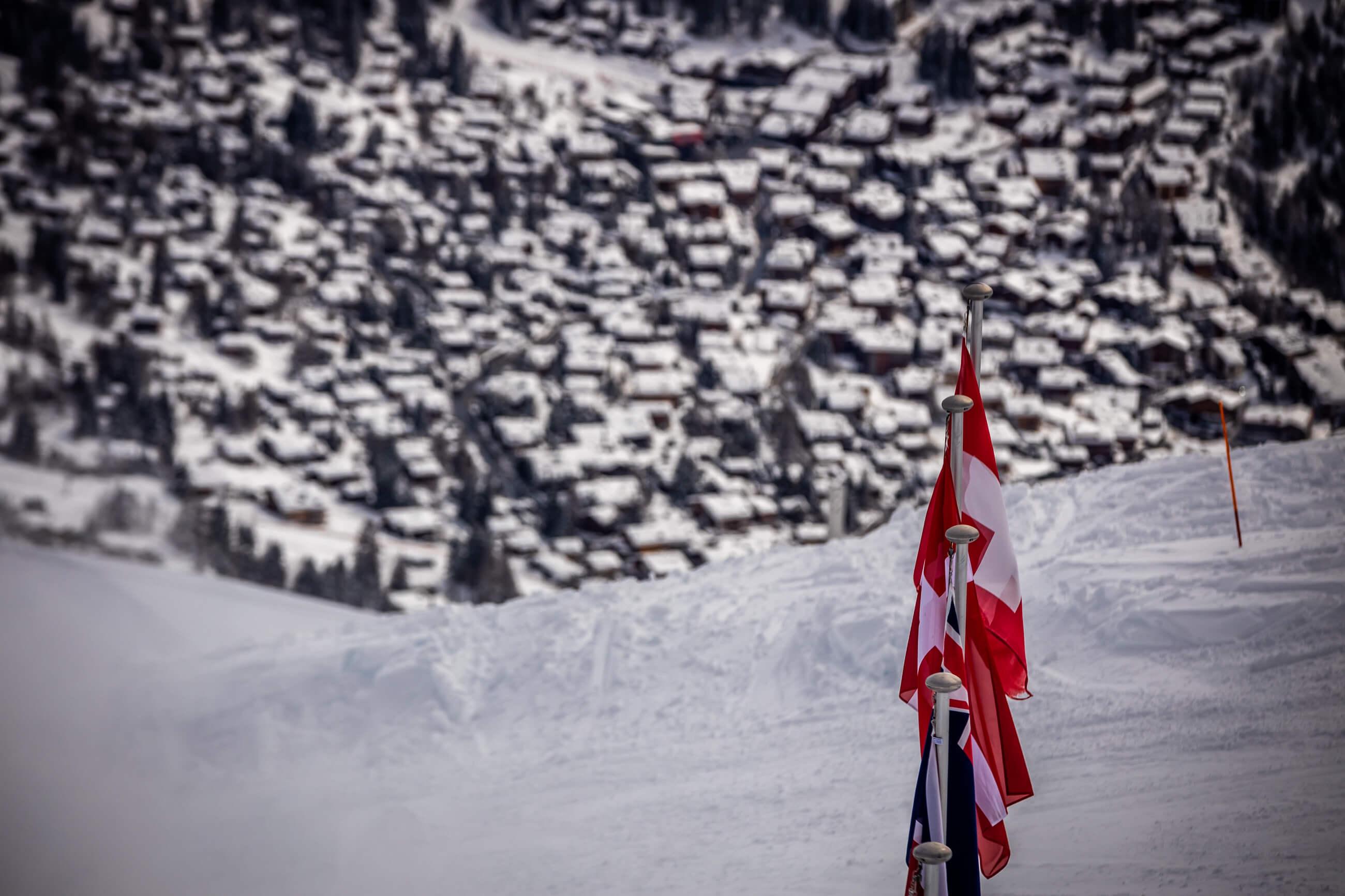 Switzerland Verbier Alpy La Tzoumaz