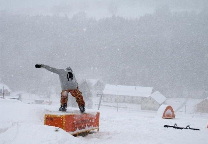 dolni morawa czechy snowboard