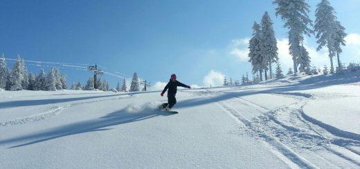 Czarna gora snowboard Polska