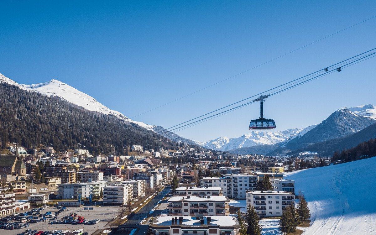 Davos Jakobshorn lift