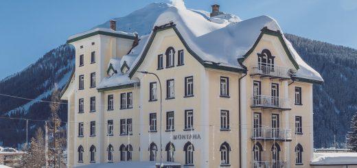 Hotel Montana Davos exteriour